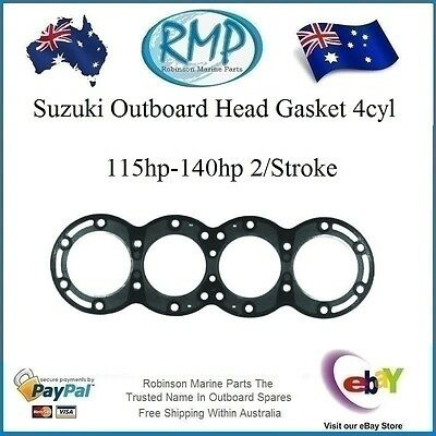 A Brand New Suzuki Head Gasket 115hp-140hp All Inline 4cyl's # R 11141-94620