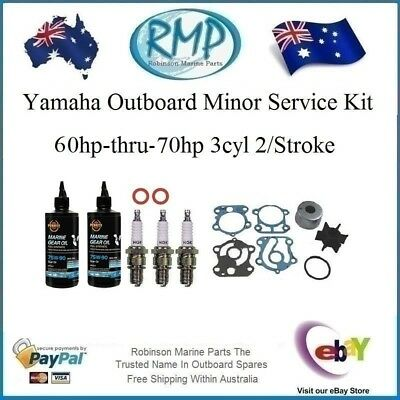 A Brand New Minor Service Kit Suits Yamaha 60hp-70hp 3cyl 2/Stroke 6H3-K