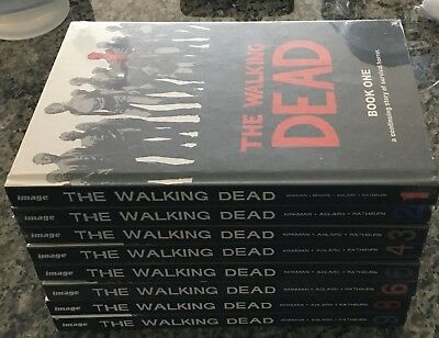 The Walking Dead Hardcover Set 1-6 Brand New And Sealed Local Pickup Only !!!!!!