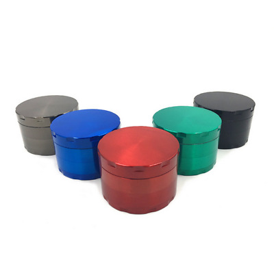 2.5inch 4 layer Tobacco Herb Grinder Spice Herbal Zinc Alloy Smoke Crusher New