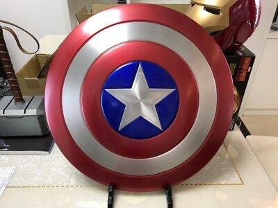 Captain America Aluminium Shield Made of Aluminum Alloy 1:1 Scale Cosplay Prop