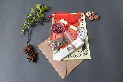 Spell Herb Kit Witch Pagan Wicca Witchcraft Magic Ritual Blessing Rite