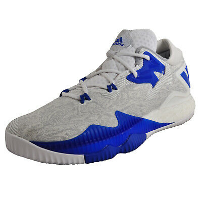 buy popular 642f0 35951 Adidas Crazylight Boost Low Mens Basketball Fitness Gym Trainers White