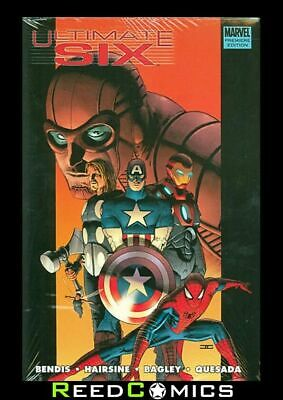 ULTIMATE SIX HARDCOVER (208 Pages) New Hardback Collects 7 Part Series + more