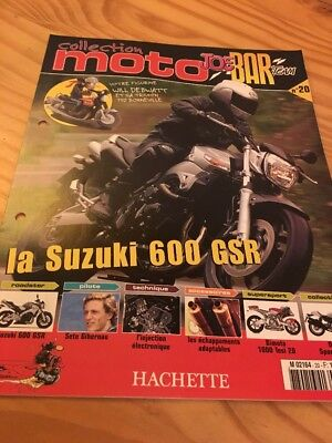 Joe Bar Team fasicule n° 20 collection moto Hachette revue magazine brochure