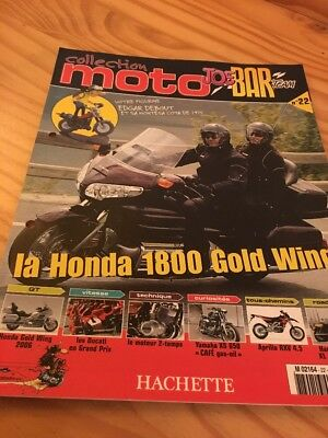 Joe Bar Team fasicule n° 22 collection moto Hachette revue magazine brochure