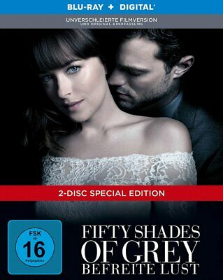 Fifty Shades of Grey 3 - Befreite Lust - Digibook # BLU-RAY-NEU