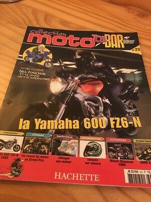 Joe Bar Team fasicule n° 23 collection moto Hachette revue magazine brochure