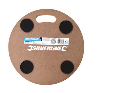 Silverline Durable Strong MDF Round Platform Dolly Load capacity 250kg