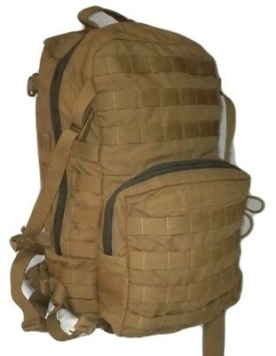 USMC FILBE Assault Pack USGI Coyote Marines Military used defective condition