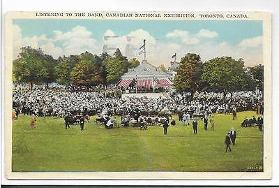 Listening To The Band,canadian National Exhibition~Toronto,canada 1929