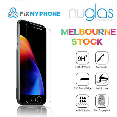 For iPhone 6 Plus 6P Premium NUGLAS 2.5d Tempered Glass Screen Protector 5.5""