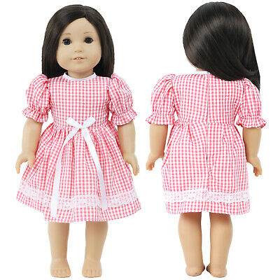 "Outfit Dress Shirt Clothes for 18"" American Girl For Our Generation My Life Doll"