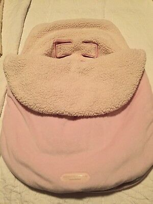 JJ Cole Bundleme Original, Pink, Infant to 21 lbs. EUC