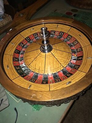 32 Roulette Wheel From Sparks nugget casino rare
