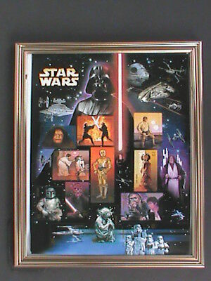 STAR WARS Stamps 10 YEAR COMMEMORATIVE SHEET  15 INDIVIDUAL STAMPS