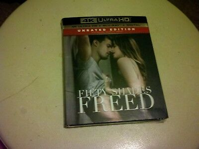 Fifty Shades Freed (4K Ultra HD) [2018]--4K UHD Disc Only***READ FULL LISTING***