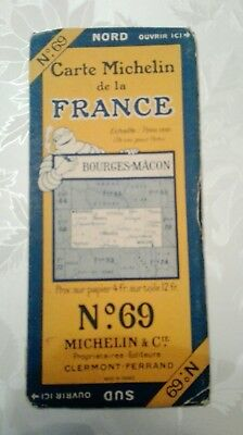 carte Michelin 69 1927