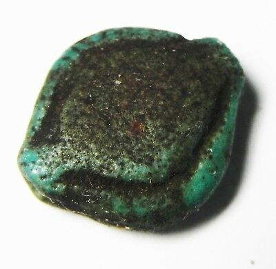 Zurqieh -As4865-  Ancient Egypt, New Kingdom Faience Bead. 1400 - 1100 B.c