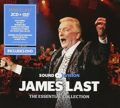 James Last ~ Essential Collection New 2Cd + Live At The Royal Albert Hall Dvd