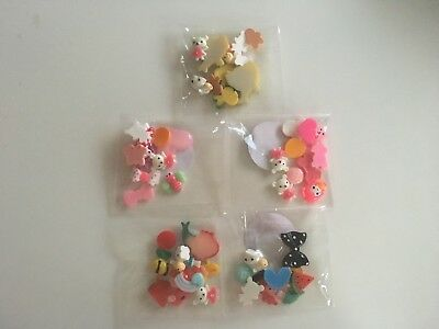 Slime Supplies Strawberry Slime Co. Resin Charms 10pc