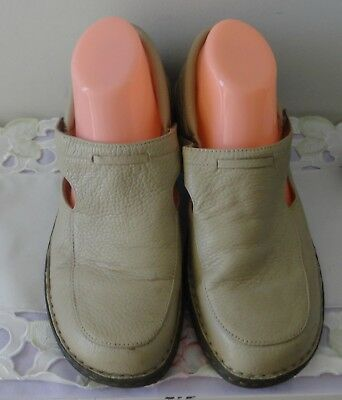 SHOES / SANDALS - Barani - Leather - Lexia - Beige - 11 - RRP: 129 - Good Cond