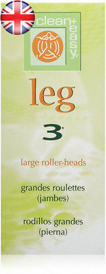 Clean + Easy Clean+ Leg - Large Roller Heads 3 Piece