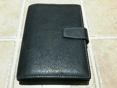 Johnston & Murphy Black Peeble Grain Leather Brag Bk Photo Album 36 Pics NWT $52