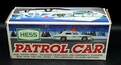 New Hess Gasoline 1993 Patrol Car - In Box