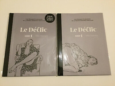 Le Declick Tome 1, Milo Manara, Standard and 1/100 Limited Edition