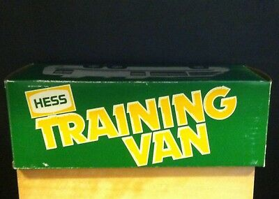 1980 Vintage Hess Truck Training Van With Box And Insert