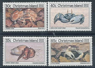 Christmas Island 1985 Crabs (1st series)    MNH