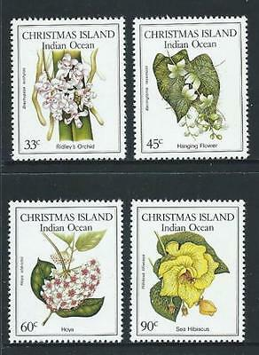 Christmas Island 1986 Native Flowers   MNH