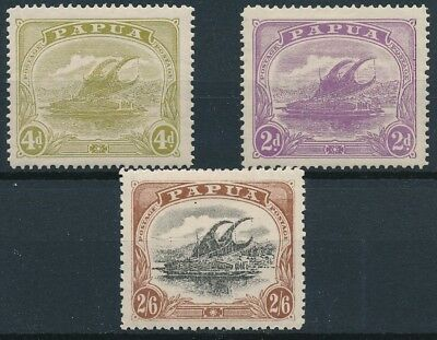 [38404] Papua Boats Good lot Very Fine MH stamps