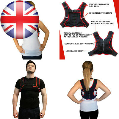Viavito Weighted Vest - Black/Red, 2.5 kg