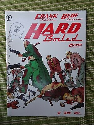 Hard Boiled #2 (of 3) Miller & Darrow Dark Horse 1990 VFN+