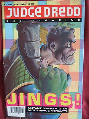 Judge Dredd Megazine #20 May 1992
