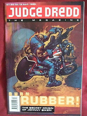 Judge Dredd Megazine #19 Apr 1992