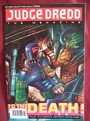 Judge Dredd Megazine #17 Feb 1992