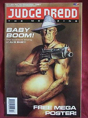 Judge Dredd Megazine #15 Dec 1991