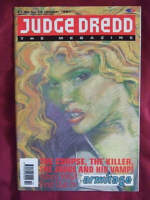 Judge Dredd Megazine #13 Oct 1991