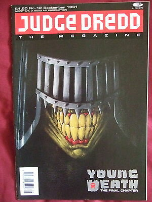 Judge Dredd Megazine #12 Sep 1991