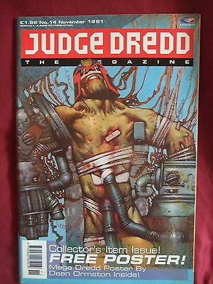 Judge Dredd Megazine #14 Nov 1991