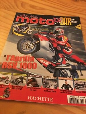 Joe Bar Team fasicule n° 8 collection moto Hachette revue magazine brochure