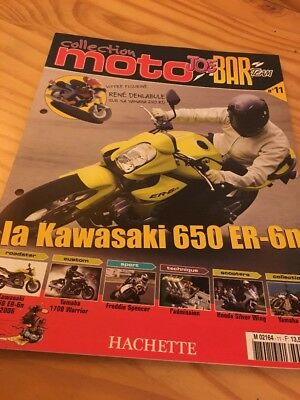 Joe Bar Team fasicule n° 11 collection moto Hachette revue magazine brochure