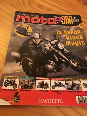 Joe Bar Team fasicule n° 13 collection moto Hachette revue magazine brochure
