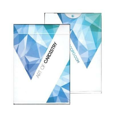 Art of Cardistry Playing Cards Blue Workers Edition by BOCOPO