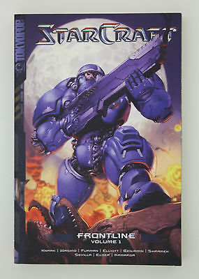 Starcraft Frontlines Vol. 1 Manga Graphic Novel Book English By Paul Benjamin
