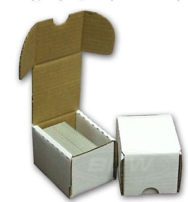 10 BCW 100 COUNT Corrugated Storage Boxes for Sports/Trading/Game Cards