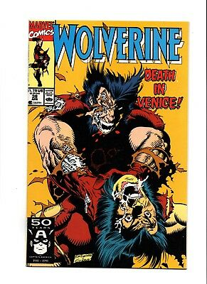Wolverine 38 1988 Series Htf Book X-24 Vf+